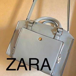 ザラ(ZARA)のZARA 未使用 ミントブルーバッグ  (ショルダーバッグ)