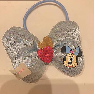 ディズニー(Disney)のミニー💓リボン(ヘアゴム/シュシュ)