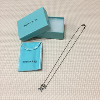ティファニー(Tiffany & Co.)のティファニー ネックレス ハート(ネックレス)