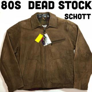 ショット(schott)のSchott ライダース レザージャケット 80年代 デッドストック シングル(ライダースジャケット)