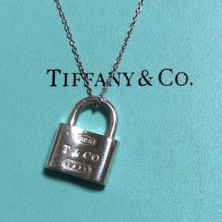 ティファニー(Tiffany & Co.)のティファニー 南京錠 シルバー ネックレス(ネックレス)