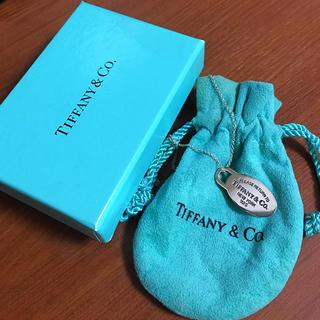 ティファニー(Tiffany & Co.)のティファニー タグ リターントゥ ネックレス シルバー(ネックレス)