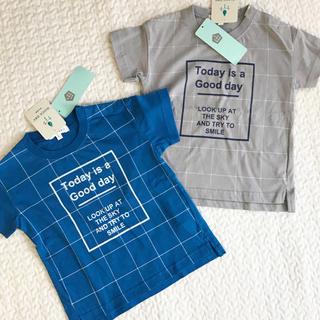 サンカンシオン(3can4on)の新品タグ付☆3can4on 半袖Tシャツ2枚セット(Tシャツ/カットソー)