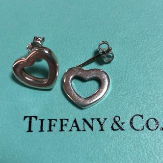 ティファニー(Tiffany & Co.)の訳あり ティファニー シルバー 925 ハート ピアス(ピアス)