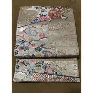 【KOUEI】中古 正絹 六通柄袋帯 九百本金錦(帯)