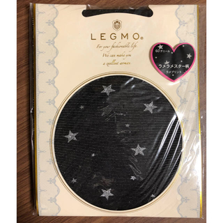 新品 レグモ LEGMO ラメ スター タイツ(タイツ/ストッキング)