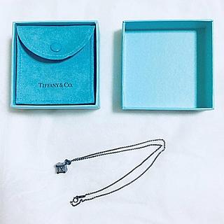 ティファニー(Tiffany & Co.)の◆ TIFFANY&Co. キューブペンダント ◆ 未使用品(ネックレス)