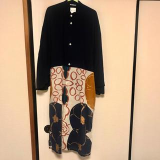 ソウソウ(SOU・SOU)の【SOU・SOU】かり衣 モスリン 素材 シャツワンピース風羽織(その他)