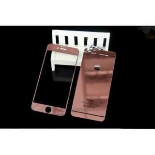 iPhone6/6s鏡面ガラスシート♡ローズゴールド(iPhoneケース)