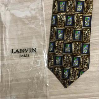 ランバン(LANVIN)のlanvin ネクタイ   新品未使用 柄(ネクタイ)