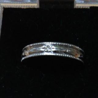 ブラックレーベル ダイヤモンドリング(リング(指輪))
