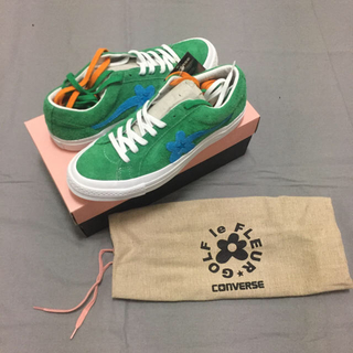 コンバース(CONVERSE)のCONVERSE ONE STAR GOLF OX GREEN 28cm(スニーカー)