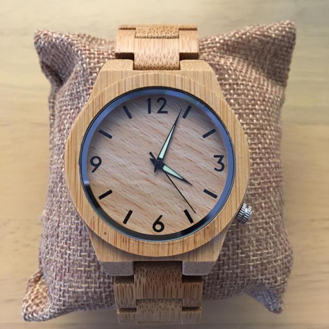 bobobird メンズ 竹製 アナログおしゃれ時計 メンズの時計(腕時計(アナログ))の商品写真