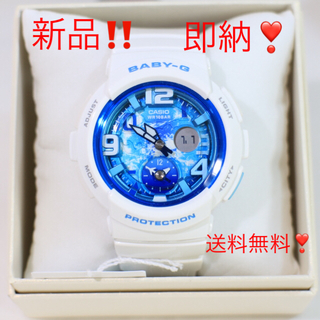 ベビージー(Baby-G)の新品即納✨ラスト1個✨BABY-G✨ビーチトラベラー✨レディース カシオ 腕時計(腕時計)