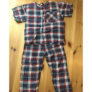 ムジルシリョウヒン(MUJI (無印良品))の男の子パジャマ 110cm(パジャマ)
