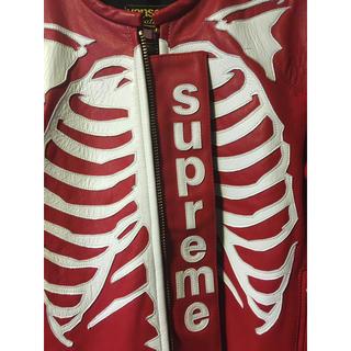 シュプリーム(Supreme)のSupreme/Vanson Leather⚠️今日最終日‼️(レザージャケット)