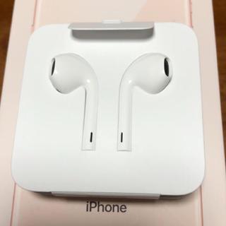 アイフォーン(iPhone)のiPhone 純正 変換アダプターとイヤホン(変圧器/アダプター)
