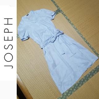 ジョゼフ(JOSEPH)の※新品★M★リネンシャツワンピース(ひざ丈ワンピース)