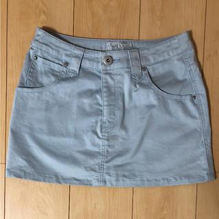 ミスティウーマン(mysty woman)のミスティウーマン ミニスカート 水色 ブルー(ミニスカート)