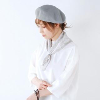 アトリエブルージュ(atelier brugge)のatelier brugge アトリエブルージュ リネンベレー(ハンチング/ベレー帽)
