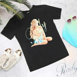 レディー(Rady)のRadyかすれりぼんちゃんTシャツ(Tシャツ/カットソー(半袖/袖なし))