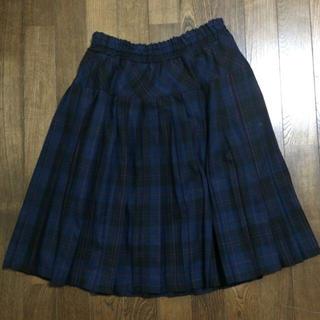 ハニーズ(HONEYS)のチェックスカート(ひざ丈スカート)