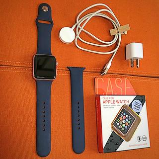 アップルウォッチ(Apple Watch)のyuusuke様【使用感あり】AppleWatchSeries2 42 ローズ(その他)