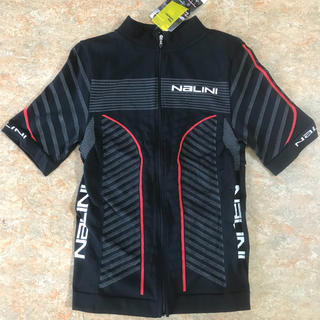 (新品)NALINI ナリーニ イタリア製 サイクリングウェアー S/Mサイズ(ウエア)