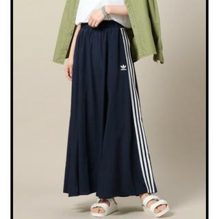 アディダス(adidas)のadidas M♡BEAUTY&YOUTH コラボ ロングスカート(ロングスカート)