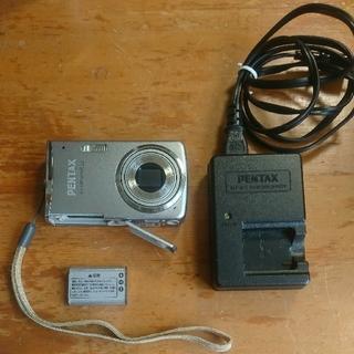 ペンタックス(PENTAX)の【ジャンク品】PENTAX Optio M50 デジタルカメラ 本体・充電器(コンパクトデジタルカメラ)