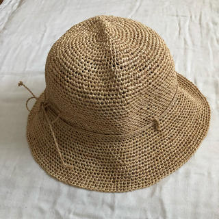 ムジルシリョウヒン(MUJI (無印良品))の無印良品 ラフィア たためるキャペリンハット(麦わら帽子/ストローハット)