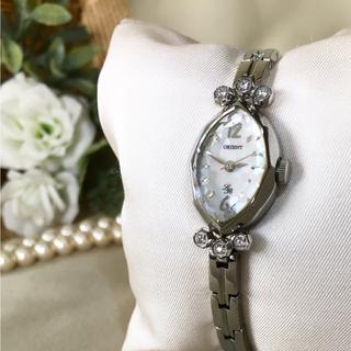 オリエント(ORIENT)の美品✨電池交換・クリーニング済み! ORIENT オリエント レディース 時計(腕時計)