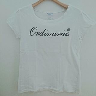 オールオーディナリーズ(ALL ORDINARIES)のALL ORDINARIES カットソー(カットソー(半袖/袖なし))