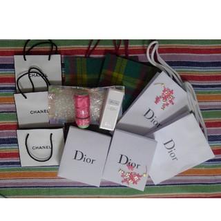 ディオール(Dior)の伊勢丹 Dior CHANEL ラッピング用品まとめ売り(ラッピング/包装)