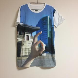 エムエムシックス(MM6)のmm6  プリントTシャツ(Tシャツ/カットソー(半袖/袖なし))