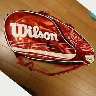 ウィルソン(wilson)のお値下げ USED ❤️ウィルソン❤️ Wilson テニスラケットケース(バッグ)