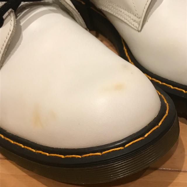 G.T. HAWKINS(ジーティーホーキンス)のren様専用  ホーキンス白ブーツ 25.5cm メンズの靴/シューズ(ブーツ)の商品写真