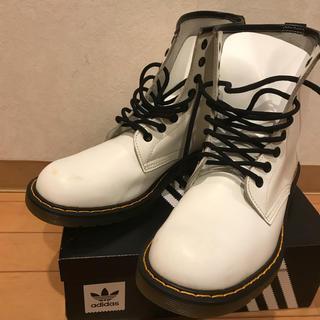 ジーティーホーキンス(G.T. HAWKINS)のren様専用  ホーキンス白ブーツ 25.5cm(ブーツ)