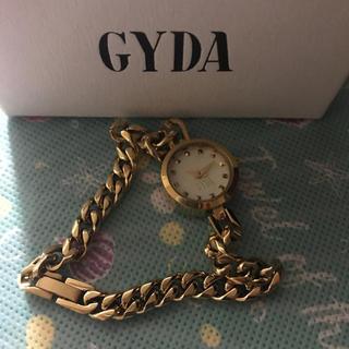 ジェイダ(GYDA)のGYDA✳︎ゴールド腕時計(腕時計)