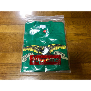 シュプリーム(Supreme)の新品 緑S(Tシャツ/カットソー(半袖/袖なし))