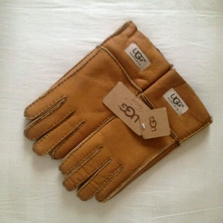 アグ(UGG)のアグUGG レディース本革手袋(手袋)