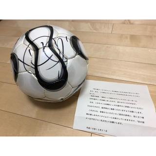 アディダス(adidas)の直筆サイン入り 元サッカー日本代表 田中達也選手 サインボール(スポーツ選手)