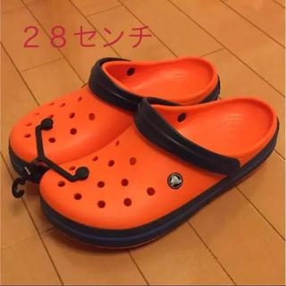 クロックス(crocs)のクロックス 28センチ 新品(サンダル)