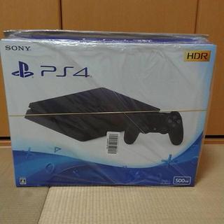 プレイステーション4(PlayStation4)のプレステ4   500GB  新品(家庭用ゲーム機本体)