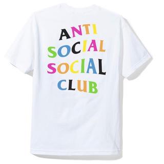 アンチ(ANTI)のANTI SOCIAL  Rainy Dayz White Tee /M(Tシャツ/カットソー(半袖/袖なし))