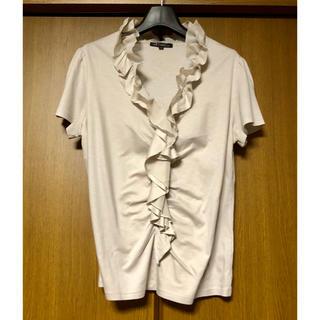 ニジュウサンク(23区)の23区 半袖カットソー サイズ40(カットソー(半袖/袖なし))