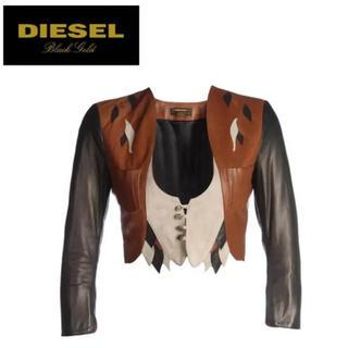 ディーゼル(DIESEL)の定価9万 DIESEL ライダース 羊革(ライダースジャケット)
