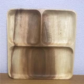 ムジルシリョウヒン(MUJI (無印良品))の無印 MUJI アカシア スクエア トレー(収納/キッチン雑貨)