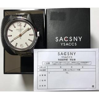 サクスニーイザック(SACSNY Y'SACCS)の未使用 サクスニー イザック メンズ腕時計 SYA-15091-GY 送料無料(腕時計(アナログ))
