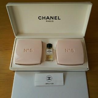 シャネル(CHANEL)のシャネル 石鹸、香水セット(ボディソープ / 石鹸)